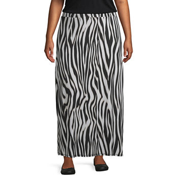 e6c5a0661 Plus Size Skirts for Women - JCPenney