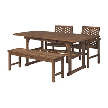 Vincent Collection 4-pc. Patio Dining Set