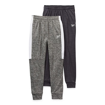 Reebok Big Boys 2-pc. Cuffed Jogger Pant