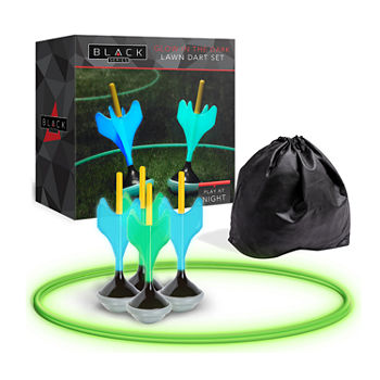 The Black Series Lawn Darts Glow In The Dark 7-pc. Lawn Darts