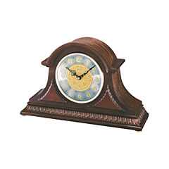 Seiko® Dual Chime Wooden Mantal Clock Brown Qxj003Blh