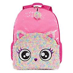 Pink Owl Backpack