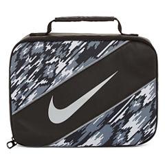 Nike® CLASSIC - BLACK/WHITE PRINT Lunch Box