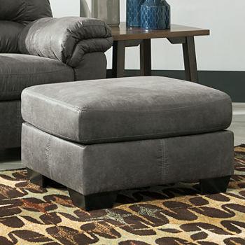 Excellent Signature Design By Ashley Blake Ottoman Short Links Chair Design For Home Short Linksinfo