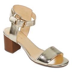 Liz Claiborne Eclipse Womens Heeled Sandals