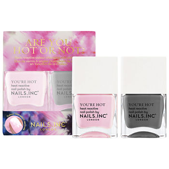 NAILS INC. Color Changing Nail Polish Duo- Are You Hot Or Not