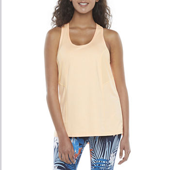 Xersion Womens U Neck Sleeveless Tank Top Petite