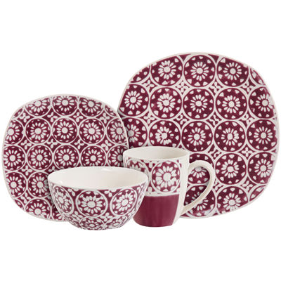 dinnerware sets purple  sc 1 st  JCPenney & Purple Dinnerware For The Home - JCPenney