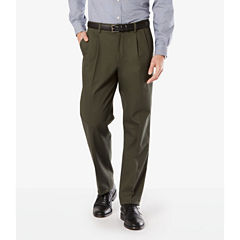 Dockers® D3 Signature Stretch Classic-Fit Pleated Pants