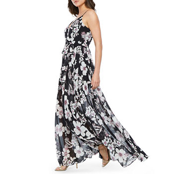 53ac079c6ab3d3 Premier Amour Sleeveless Floral Maxi Dress