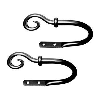 Kenney Medieval Hook 2-pc. Curtain Holdback