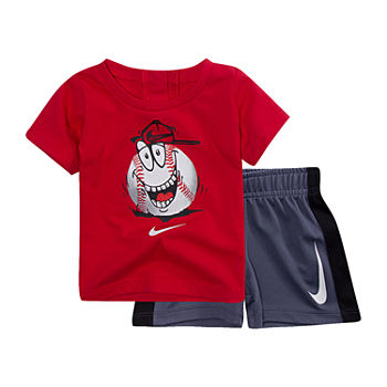 72dc2ac5a83fc2 Nike Red Baby Boy Clothes 0-24 Months for Baby - JCPenney