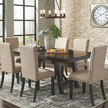 Signature Design by Ashley® Rokane 7Pc Dining