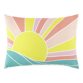 Outdoor Oasis Rectangular Outdoor Pillow