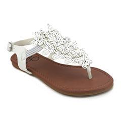 Olivia Miller Zinnia Girls Strap Sandals - Little Kids/Big Kids