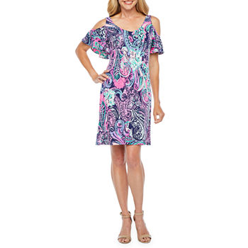 c8786f6a3c48 Cold Shoulder Dresses - JCPenney