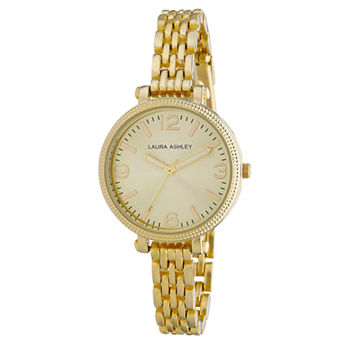 Laura Ashley Ladies Gold Link Bracelet Watch La31006Yg