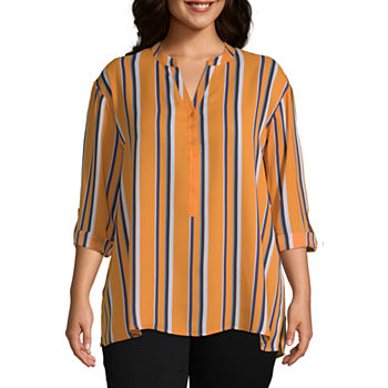 6bb448015c33c5 Zac And Rachel Plus Tops for Women - JCPenney