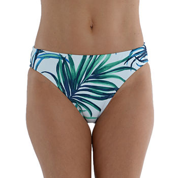 Sonnet Shores Womens Leaf Hipster Bikini Swimsuit Bottom