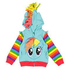 My Little Pony Hoodie-Toddler Girls
