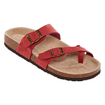 Footbed Arizona Adjustable Fargo Womens Strap Sandals Ygbf76y