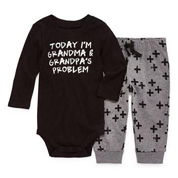 02ed28d4d Okie Dokie 2-pc. Bodysuit Set-Baby Boys