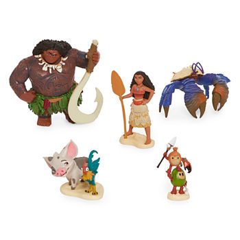 Disney Collection 5-Pc. Moana Figurine Playset