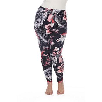 019146001b6db Floral White Leggings for Women - JCPenney