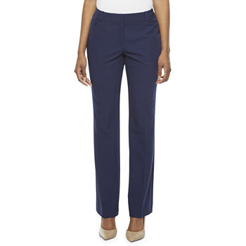 Worthington Womens Curvy Fit Perfect Trouser