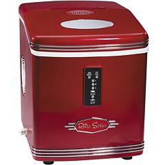 Nostalgia RIC100 Retro Series 26-Pound Automatic Ice Maker