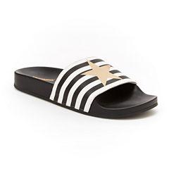 Union Bay Star Womens Slide Sandals