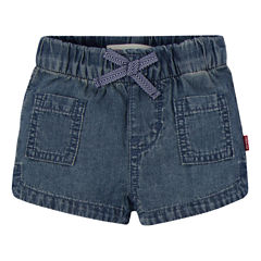 Levi's Pull-On Shorts Baby Girls