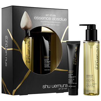 shu uemura Essence Absolue Day and Night Hair Oil Set