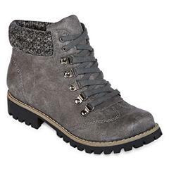 St. John's Bay Pickens Womens Combat Boots