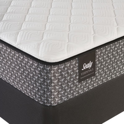 sealy holly hills plush mattress box spring - Mattress And Box Spring
