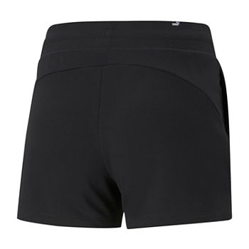"Puma Essential 4"" Sweat Short Womens Plus Pull-On Short"