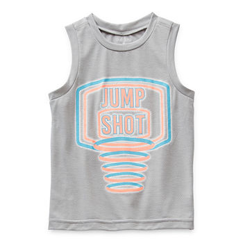 Okie Dokie Little Boys Crew Neck Tank Top