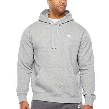 8df896376e Nike Mens Long Sleeve Embellished Hoodie-Big and Tall