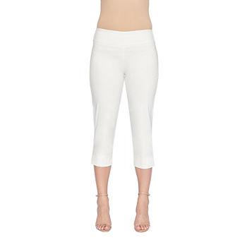 b2d1bd97da30a Capris White for Women - JCPenney