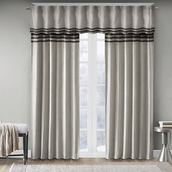 Madison Park Curtain Panels Bedroom Curtains & Decor for Bed ...