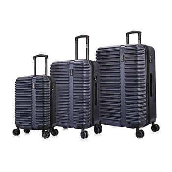 InUSA Ally Hardside 3-pc Luggage Set