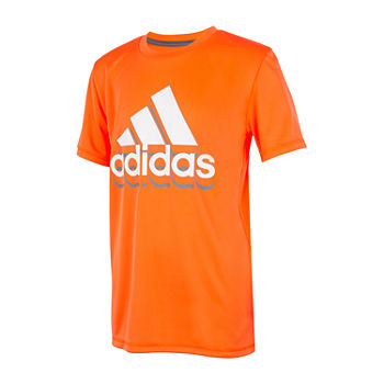 adidas Little Boys Crew Neck Short Sleeve T-Shirt