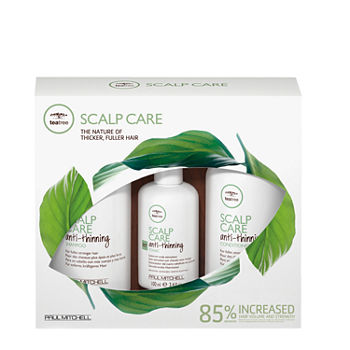 Paul Mitchell Tea Tree Scalp Care Take Home Regiment Hair Product Value set 3 pc.