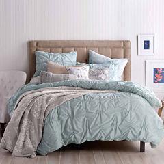Peri Check Smock Comforter Set