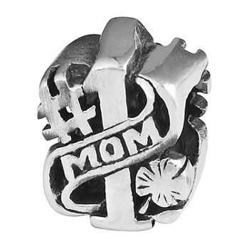 "PS Personal Style ""Mom"" Sterling Silver Bead"