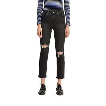 724™ Jeans High Crop Levi's® Straight Rise lcJTFK1
