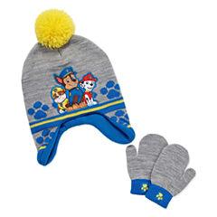 2-pc. Paw Patrol Hat & Glove Set-Toddler Boys