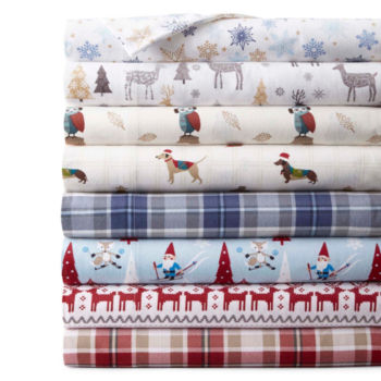 twin xl flannel sheets JCPenney Home Bed & Bath twin xl flannel sheets