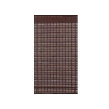 Bamboo Woven Wood Cordless Room Darkening Roman Shade