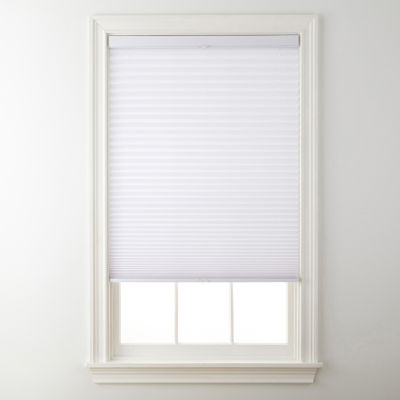 jcpenney home cordless pleated shade free swatch